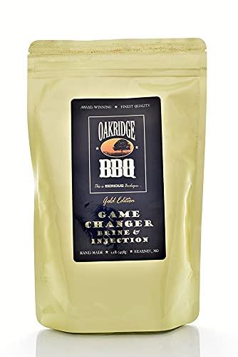Oakridge BBQ Gold Edition Game Changer All Purpose Brine - 1.1 lbs