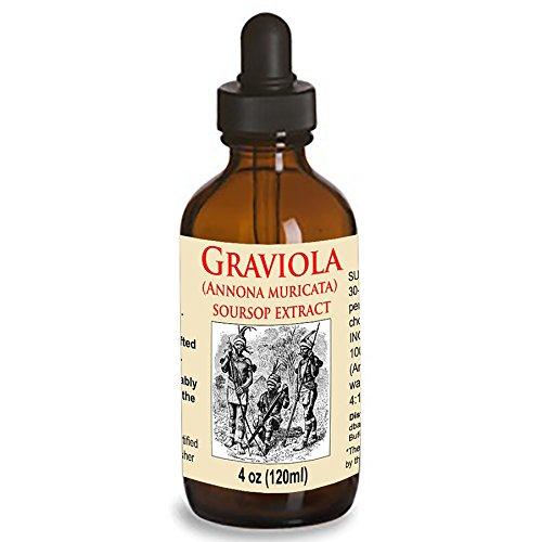 Organic Graviola Liquid Soursop Extract 4 oz...