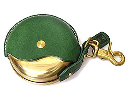 Cramp イタリアンレザー 携帯灰皿 レザーマルチケース Cr-131 (グリーン)