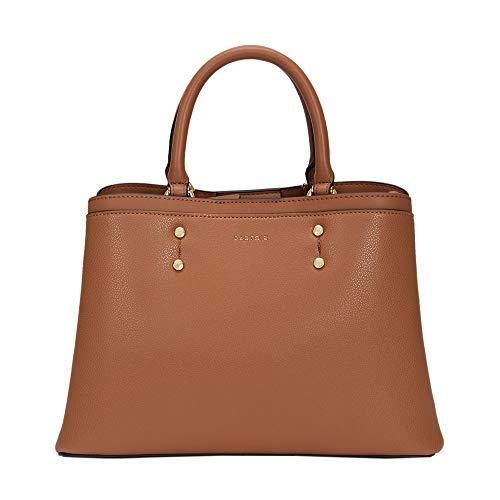 Parfois - Bolso Shopper Snatch - Mujeres - Tallas S - Camel