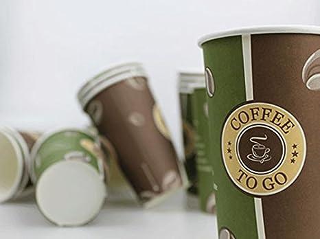 Coffee to go Becher Pappbecher 0,2l Design Jacobs Kaffeebecher 100 Stück