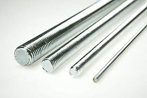 Gewindestange Gewindestäbe 1000mm Stahl Verzinkt 4,8 DIN 976-1 M8