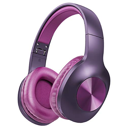 LETSCOM Bluetooth Headphones, 100 Hours Playtime Bluetooth 5.0 Headphones Over Ear with Deep Bass, Hi-Fi Sound...