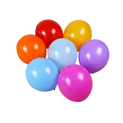 Lot 20 Ballon de Riz Multicolore 45cm