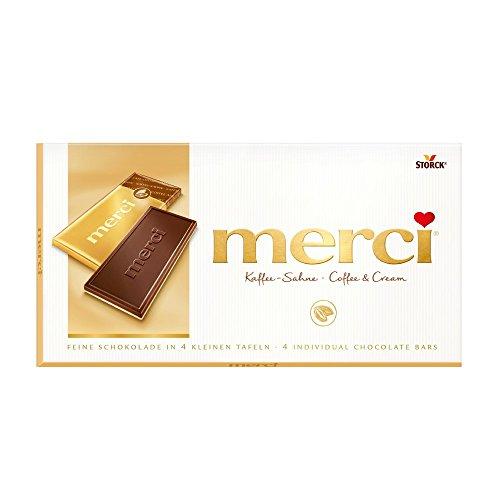 Merci Crema Caffè, 4 bar mini cioccolato - 100gr [Misc.]
