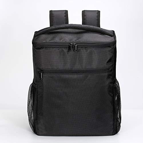 Woodluv 2 Person Slimline Wine Cooler Bag with Wine Glasses, Corkscrew & Napkins