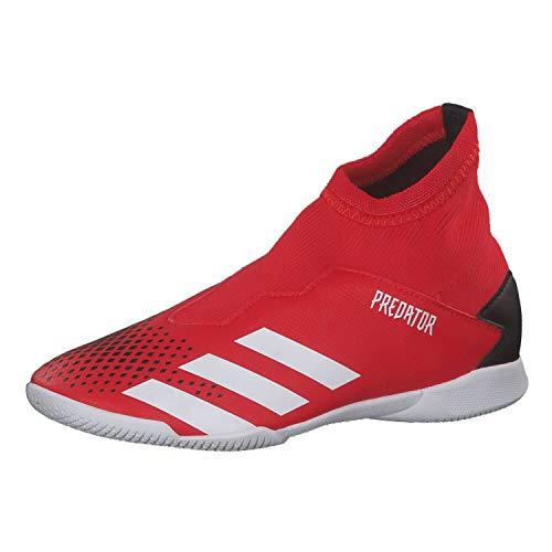 Adidas Predator 20.3 LL IN J, Zapatillas Deportivas Fútbol Unisex Infantil, Gris (Active Red/FTWR White/Core Black)