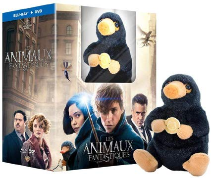 Phantastische Tierwesen und wo sie zu finden sind / Fantastic Beasts and Where to Find Them - Includes Fluffy Niffler Figurine ( ) (Blu-Ray & DVD Combo) (Blu-Ray)