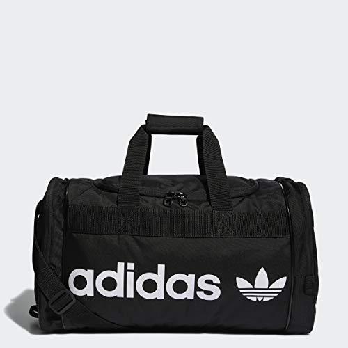 adidas Originals Unisex-Erwachsene Originals Santiago Duffel Tasche, schwarz/weiß, Einheitsgröße