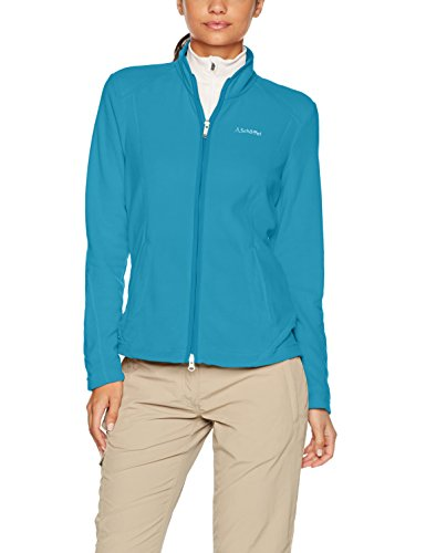 Schöffel Damen Fleece Jacket Leona Synthetisch, Hawaiian Ocean, 40