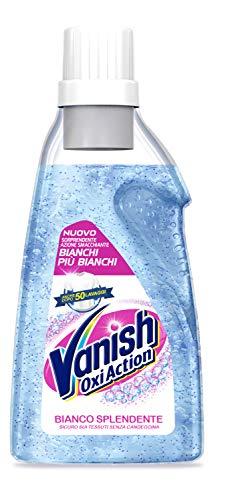 Vanish Oxi Action Gel Bianco Splendente, Smacchiatore per Capi Bianchi 1500 ml