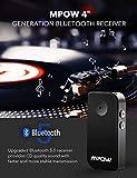 Zoom IMG-1 mpow ricevitore bluetooth v5 0
