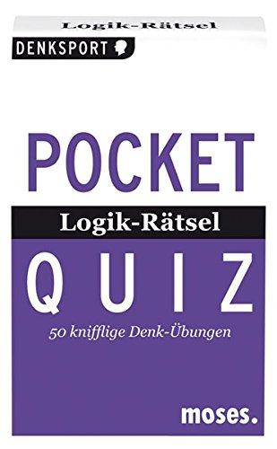 Pocket Quiz Logik-Rätsel: 50 knifflige Denk-Übungen (Pocket Quiz / Ab 12 Jahre /Erwachsene)