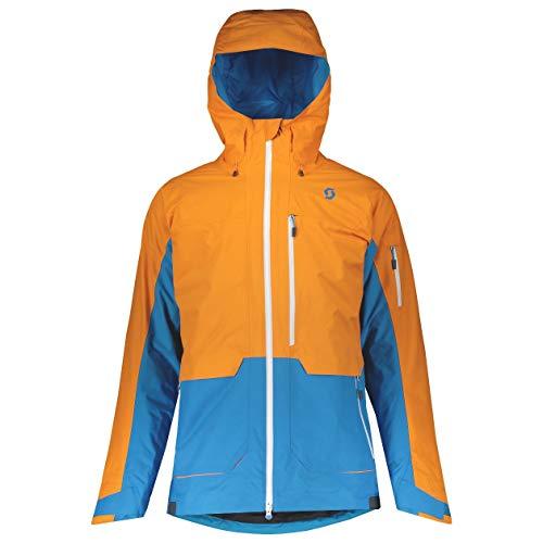 Scott Herren Skijacke Vertic 3in1 Sunset orange/Racer Blue XL
