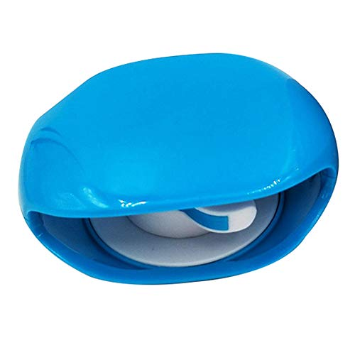 Elibeauty Winder, Portable Automatic Take-up Earphone Winder, Data Cable Earphone Cable Reel Storage Box(Blue)