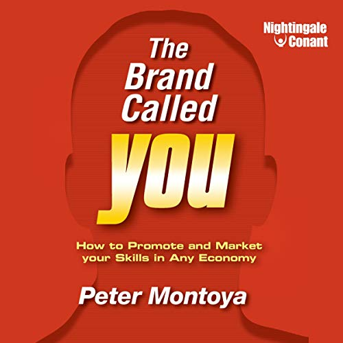 The Brand Called You audiobook cover art