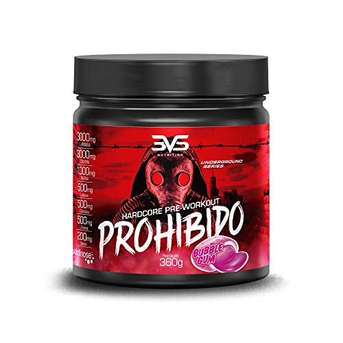 Prohibido Hardcore Pré-Workout (360G), 3Vs