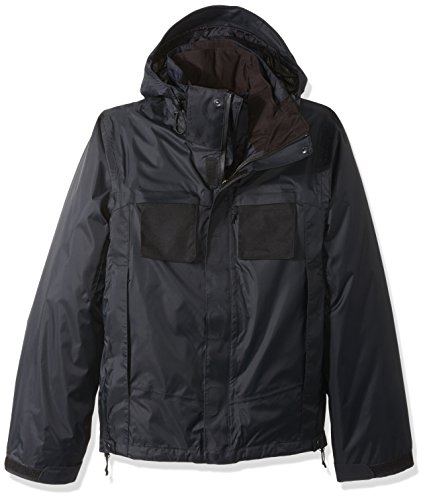 TRU-SPEC Men's H2O Proof 3-in-1 Jacket, Black, 3X-Large