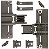 8 Packs UPGRADED W10350376(2) W10195840(2) W10195839(2) W10508950(2),Dishwasher Top Rack Adjuster for kenmore...