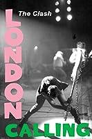 Pyramid America The Clash London Calling Music クール壁装飾アートプリントポスター 24x36インチ