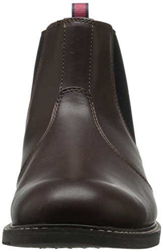 Timberland Men's EK Brook Park Chelsea Boot,Red/Brown Smooth,12 M US