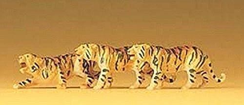 gran selección y entrega rápida Tigers (3) HO HO HO Scale Preiser Models by Preiser  barato