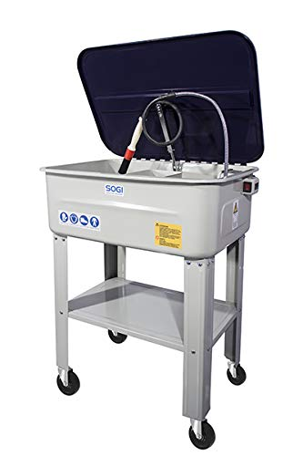 SOGI Vasca lavapezzi Mobile per Officina SP-LV-ER