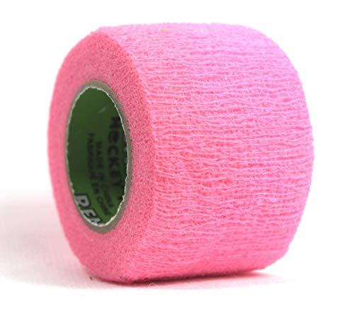 Renfrew Stretch Grip Hockey-Tape, 38mm Griptape für Eishockey (pink), 5,50 m