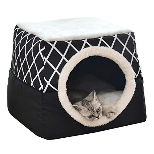Kioski kattenbakruimte Capsule Vier seizoenen Universeel kattenhuis Gesloten kamer Bamboe dierbenodigdheden Kattennest Huisdierbed Kattennest capsule Gesloten kattenhuis