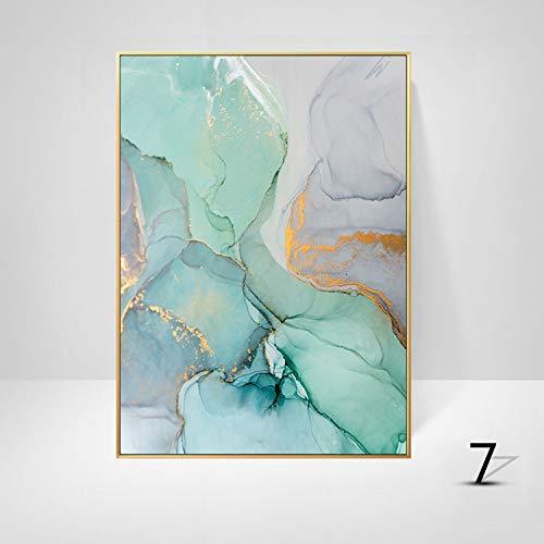 jzxjzx Decoratieve schilderij abstracte kunst eenvoudige frameloze schilderij kern inkjet muurschildering