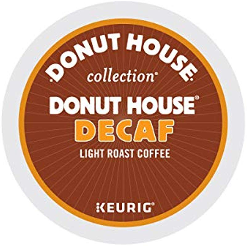 Donut House Collection Decaf Single Serve Keurig K Cup Pods Light Roast Coffee 96 Count 4 Boxes Of 24 Pods