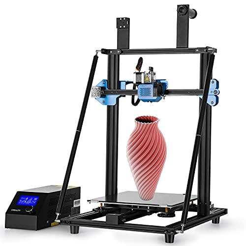 Creealidad Oficial Cr-10 V3 Impresora 3d Frame Completamente Metálica, Kit De Impresora 3d Diy Fdm Con Plataforma De Cristal De Carborundum Extraíble, Nivelación Automática De Reserva Bl-touch Y Boqui