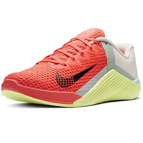Nike Wmns Metcon 6, Zapatillas Deportivas Mujer, BRT Mango Dk Smoke Grey Barely Green LT Zitron Palas Ivory, 42 EU