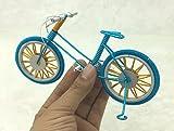 Artesanías en Metal, alambres de Aluminio de Colores, Modelos de Bicicletas Tejidas a Mano,...