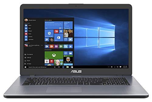 Asus VivoBook 17 F705UA 90NB0EV1-M03590 43,9 cm (17,3 Zoll HD+ Matt) Notebook (Intel Core i3-7100U, 8GB RAM, 256GG SSD, Intel HD-Grafik 620, Win 10) star grey (Generalüberholt)
