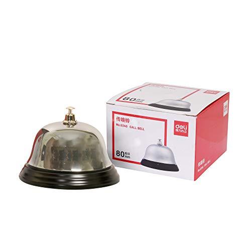 deli 0240 Calling Bell 80 mm, Pack of 2