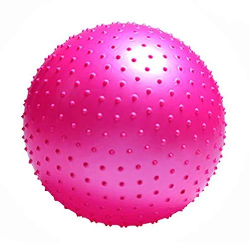 YANGHUI Mini Pilates Ball, Gymnastikball für Bauch-Beine-Po Übungen-Rosa,55cm