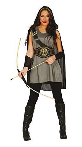 FIESTAS GUIRCA Disfraz Mujer Arquero arquera Medieval Talla m