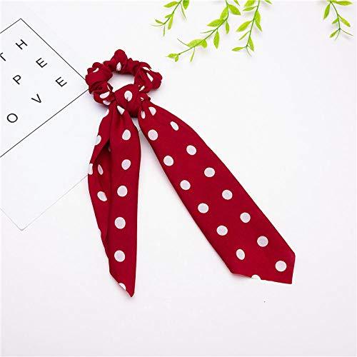 Turbantes para Mujer Diademas Pañuelo para La Cabeza De Las Mujeres Bowknot Moda para El Cabello Accesorios para El Cabello para La Cabeza Femenina-1