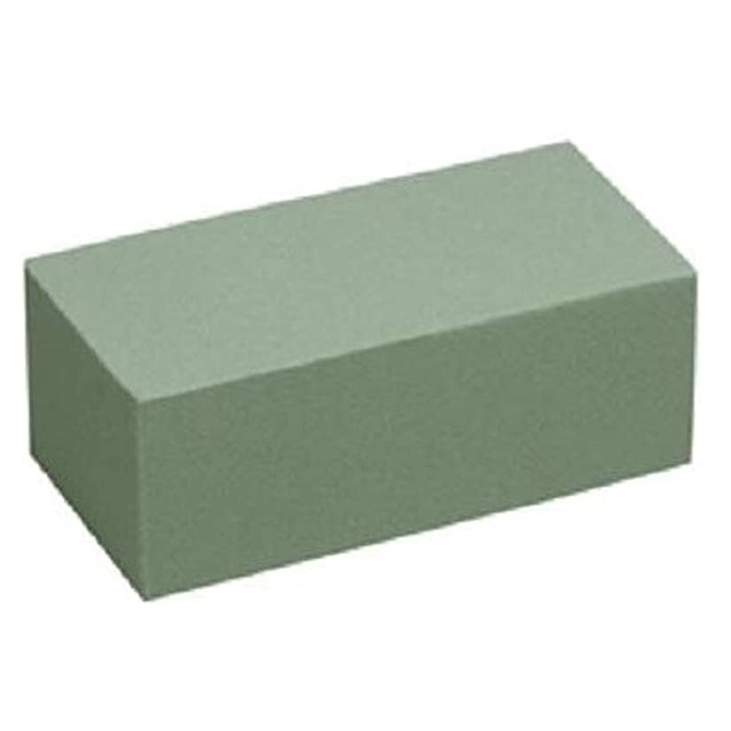 Floral Supply Online - Dry Floral Foam for Artificial Flowers, Permanent botanicals, Crafts, and Projects. Pack of 1 Brick.