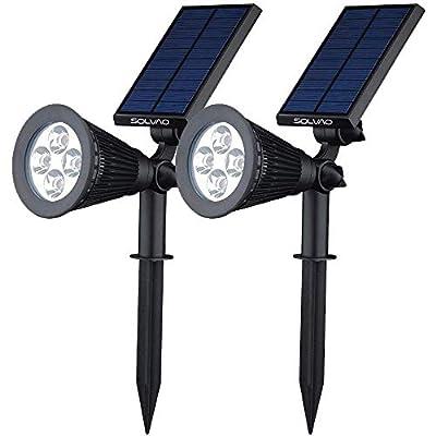 SOLVAO Solar Spotlights