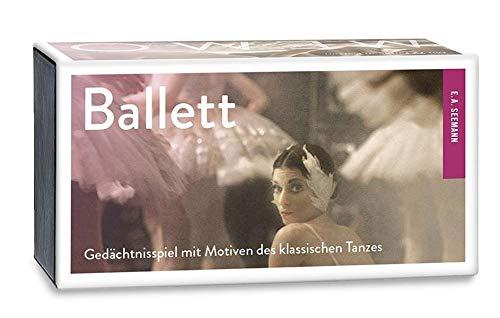 Ballett-Memo: Gedächtnisspiel mit Motiven des klassischen Tanzes - SPIEL