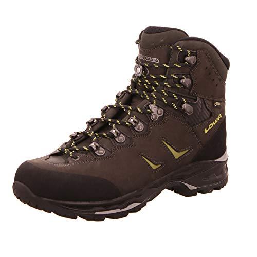 Lowa Herren Trekking Schuhe Camino GTX 210644 anthrazit/Kiwi 44