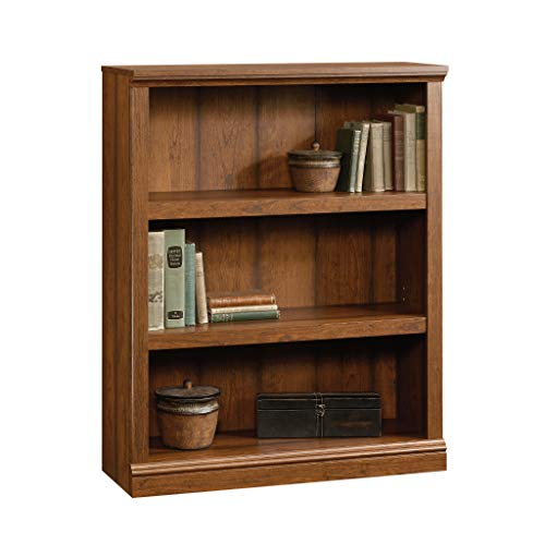 Sauder Select Collection 3-Shelf Bookcase, Washington Cherry finish