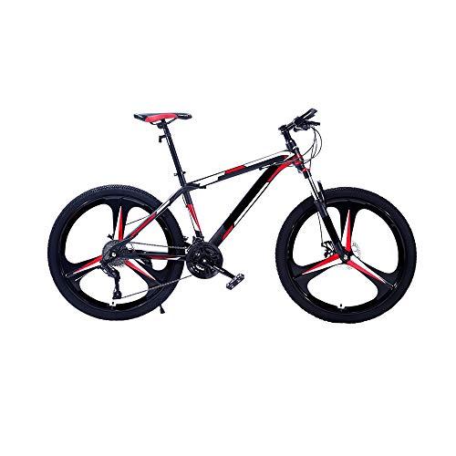 MH-LAMP Mountainbike 26 Zoll, Fahrrad 24 Gang, Mountain Bike mud Guards, mit Gabelfederung, Rahmen aus Kohlenstoffstahl, Sitzschnellverschluss, Scheibenbremsen
