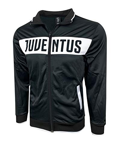 Icon Sports Compatible with Juventus F.C. Licensed Track Jacket (XXX-Small (Youth Medium 7-9 Years))