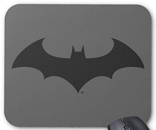 BGLKCS Batman Simple Bat Silhouette Logo Mouse Pad Computer Accessories, Gaming Mouse Mat 11.8X9.8