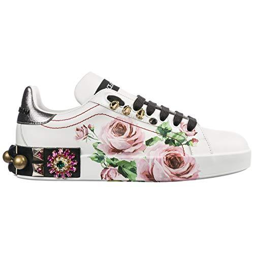 Dolce&Gabbana Sneakers Portofino Donna Bianco 35 EU