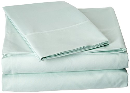 Elegant Comfort Closeout Deal 1500 Thread Count Wrinkle & Fade Resistant Egyptian Quality Ultra Soft Luxurious 3-Piece Bed Sheet Set with Deep Pockets, Twin Mint Green