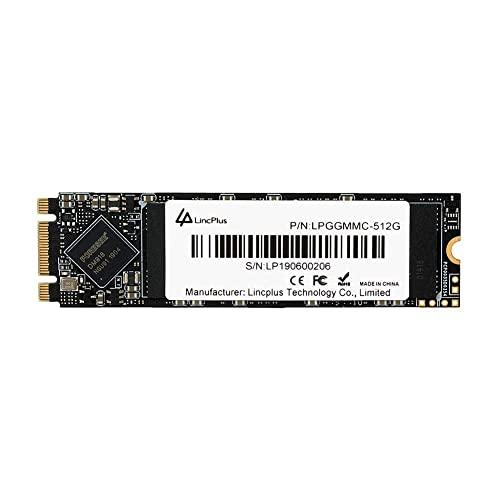 LincPlus 512GB M.2 2280 SATA SSD 3D NAND Internes SSD für Laptops,Notebooks & Tablets